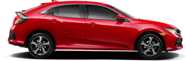 Civic Hatchback Rallye Red